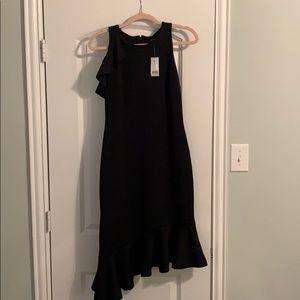 Banana Republic NWT black crepe dress